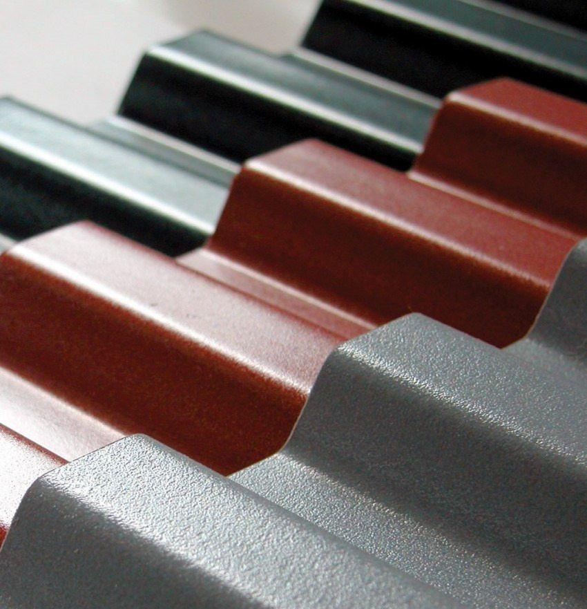 Platelage de toit: taille et prix de la plaque, caractéristiques de différents types • Tout sur ...