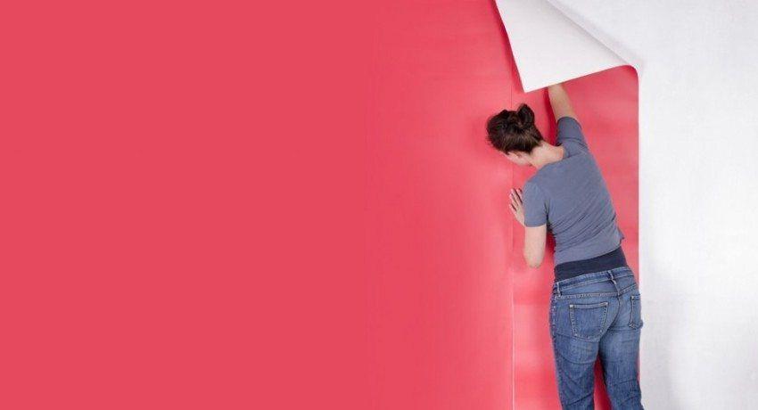 Comment coller du papier peint en vinyle sur du papier: conseils utiles pour la décoration ...